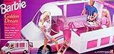 MATTEL BARBIE 2555 BARBIE: Golden Dream - Remolque de coche y caravana