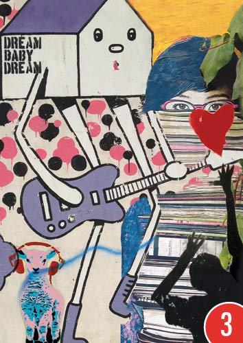 3er-Pack: Postkarte A6 +++ LUSTIG von modern times +++ DREAM BABY +++ BIZARR © BIZARRWORLD (Street Art: Cologne/Istanbul