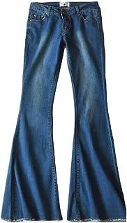 Sweetmini pantalones vaqueros elásticos con cintura baja para mujer