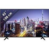 Hisense UHD TV 2020 43A7100F - Smart TV Resolución 4K, Precision Colour, escalado UHD con IA, Ultra Dimming, Audio DTS Studio Sound, Vidaa U 4.0, Compatible Alexa