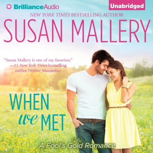 When We Met audiobook cover art