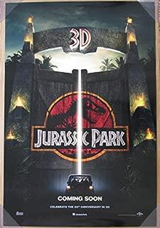 JURASSIC PARK 3D MOVIE POSTER 2 Sided ORIGINAL INTL 27x40