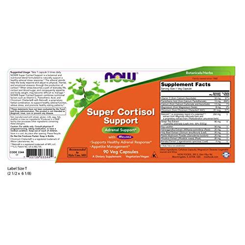 Now Super Cortisolo Supporto 90 Capsule - 90 g
