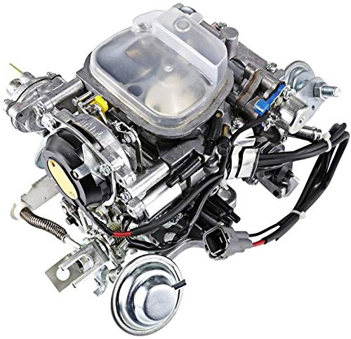 ALAVENTE 21100-35463 Carburetor Carb Replacement for Toyota 22R Engine 21100-35570 TOY-507 1988-1990 Pickup 1981-1988 Hilux 1984 Celica 1984-1988 4Runner with Square Plug (automatic choke)