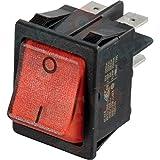 De dietrich - Schalter zweipolig rotes Licht - : 95325090