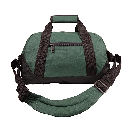 NuFazes 14' Duffel Bag For Travel Sports Gym - Portable Lightweight Shoulder Pack