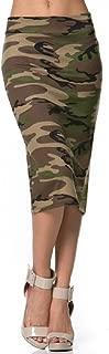 Women's Popular Colour Below The Knee Pencil Skirt