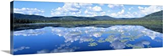 GREATBIGCANVAS Gallery-Wrapped Canvas Entitled Lake Yukon Territory Canada by 48