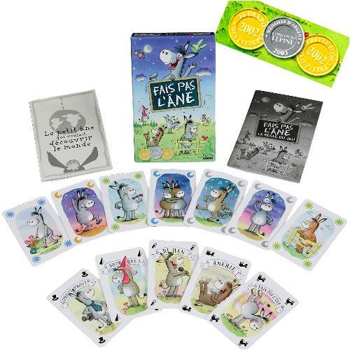 Editions Paille - Domino, Mémo et jeux d'observation - Fais pas l'âne, dès 5 ans