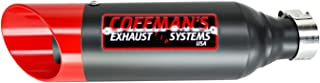 Coffman's Shorty Exhaust for Honda CBR250R CBR 250-R (2011-2013) Sportbike with Red Tip