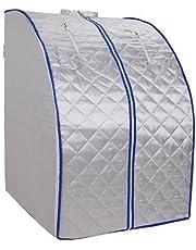Draagbare infraroodsauna XL deluxe, 1000 Watt - opvouwbaar, inklapbaar, draagbare infraroodsauna