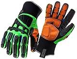 Ergodyne ProFlex 925F(x) WP Thermal Waterproof Dorsal Impact-Reducing Gloves, XX-Large...