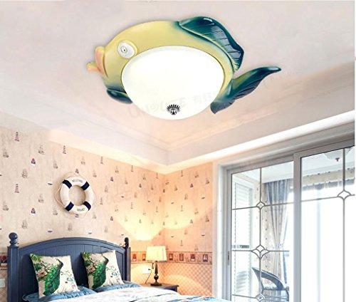 Lily's-uk Love Comme un canard dans l'eau Chambre pour enfants Éclairage de plafond Art de la bande dessinée de dessin animé Mur de la salle d'oeil Éclairage de chambre à coucher de LED