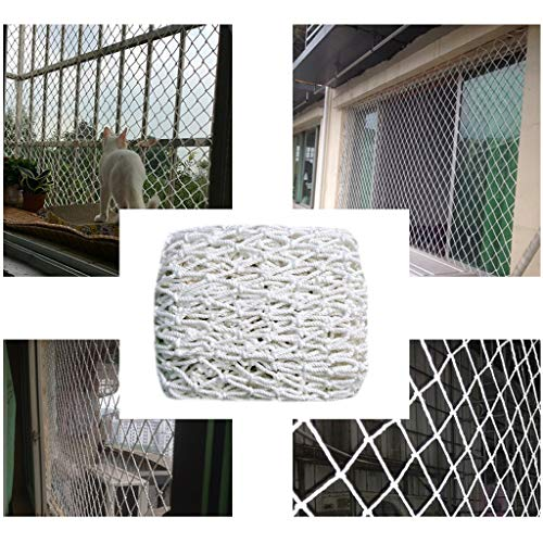 STTHOME Child Safety Net Protection Climbing Frames 10cm Net Mesh Car Nets Netting For Plants For Children Games Outdoor Protection Multi-size (Size : 5 * 7M)