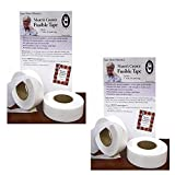 Marti Michell Fusible Tape - 1-Inch Wide, 120 Yards, Single-Sided, White