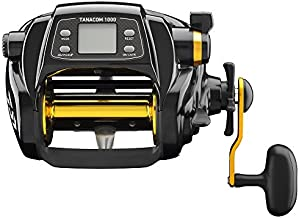 Daiwa TANACOM1000 Dendoh Fishing Reel, 30-40 lb, Black