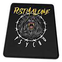 マウスパッドpost Malone ポスト・マローン 滑り止め ゲーミング 耐摩耗性 高耐久性 疲労低減 水洗い ファッション オフィス/ゲーム/パソコンなどに適用 (4サイズを選択可能)