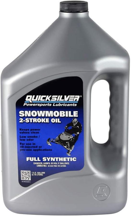 Quicksilver Atlanta Mall safety Full Synthetic Two Snowmobile Stroke Oil
