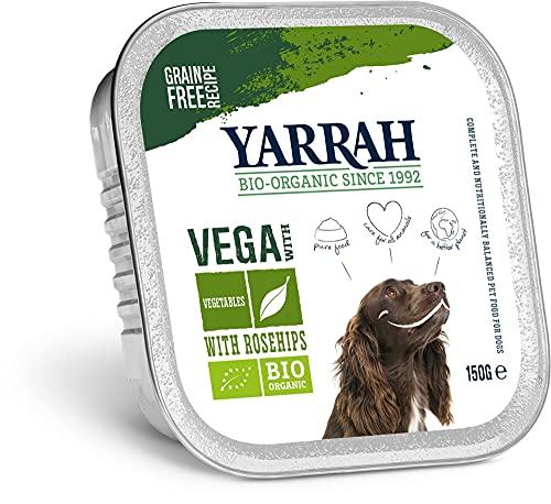 Yarrah - Bouchees VEGETARIENNES AUX EGLANTIERS pour Chien 150G