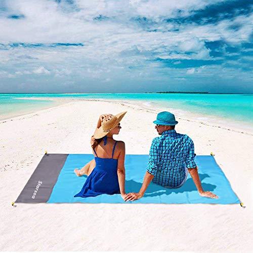 STARSEA Tragbare Picknickdecke Stranddecke Wasserdicht 78