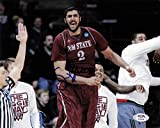 Sim Bhullar signed 8x10 photo PSA/DNA New Mexico State Autographed