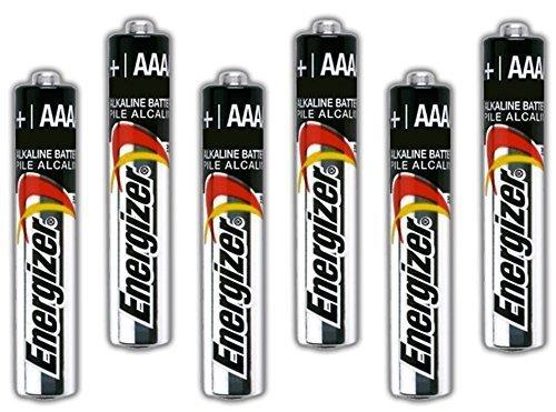 Six Energizer AAAA Alkaline Batteries for Streamlight Stylus Lights