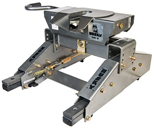Husky 31690 26K-W Wrap Around Jaw 5th Wheel Hitch with Glider, 26,000 lb Capacity