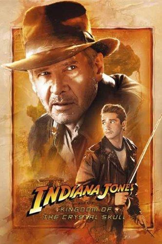 Indiana Jones Kingdom of Crystal Skull Movie Poster Full Size