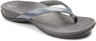 Vionic Women's Rest Dillon Toe Post Sandals- Supportive Ladies Sandals That Include Three-Zone Comfort with Orthotic Insol...