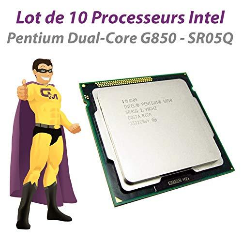 Intel 10er-Pack CPU Pentium G850 SR05Q 2,9GHz 5GT/s LGA1155 Dual Core