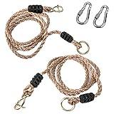 AIFAMY Balançoire/hamac suspendus, corde en nylon...
