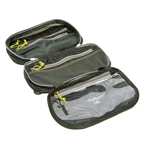 Osprey Grey Ultralight Washbag Zip, Grey, One Size
