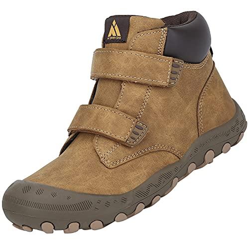 Mishansha Kinder Wanderschuhe für Jungen Mädchen Atmungsaktiv Sneakers rutschfeste Outdoorschuhe Komfortabel Wander Stiefel, Draußen Blau, 31