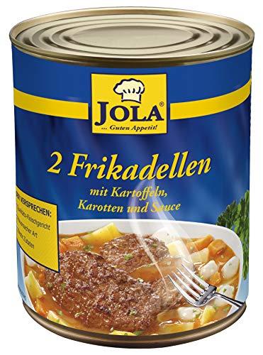 Jola Frikadellen mit Kartoffeln, Karotten und Sauce, 800 g