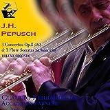 Secondo set di assolo per flauto e basso continuo, Op. 2a: No.4, Sonata in do maggiore: I. Largo (Cembalo: Luigi Fontana)