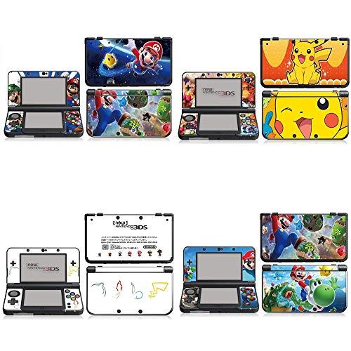 BLOUR Farbstil für neuen Nintendo 3DS New3DS N3DS Skin Cover Aufkleber Vinyl Aufkleber