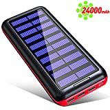 KEDRON Power Bank, Portable Charger 24000mahExternal Battery Pack of 3 Out Put 2 Input Ultra Compact High...