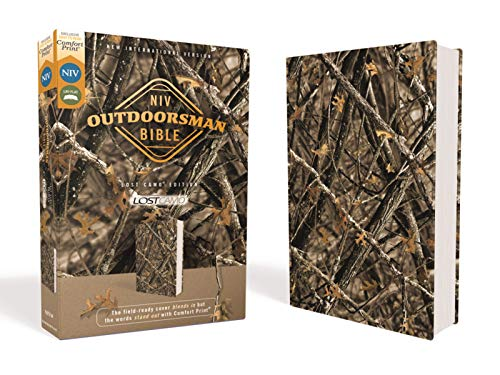 Compare Textbook Prices for NIV, Outdoorsman Bible, Lost Camo Edition, Leathersoft, Red Letter Edition, Comfort Print: The Field-Ready Cover Blends In but the Words Stand Out with Comfort Print  ISBN 9780310454014 by Zondervan,Cruise, Jason