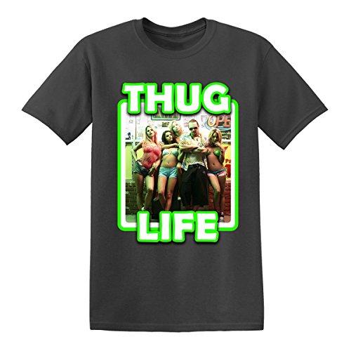 Para hombre Spring Breakers Thug Life T Shirt–(S-2X L) James Franco película de extraterrestres Morado morado L
