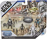 Star Wars Mission Fleet - The Mandalorian - Defend The Child Pack! Contains Five Figures and Accessories!