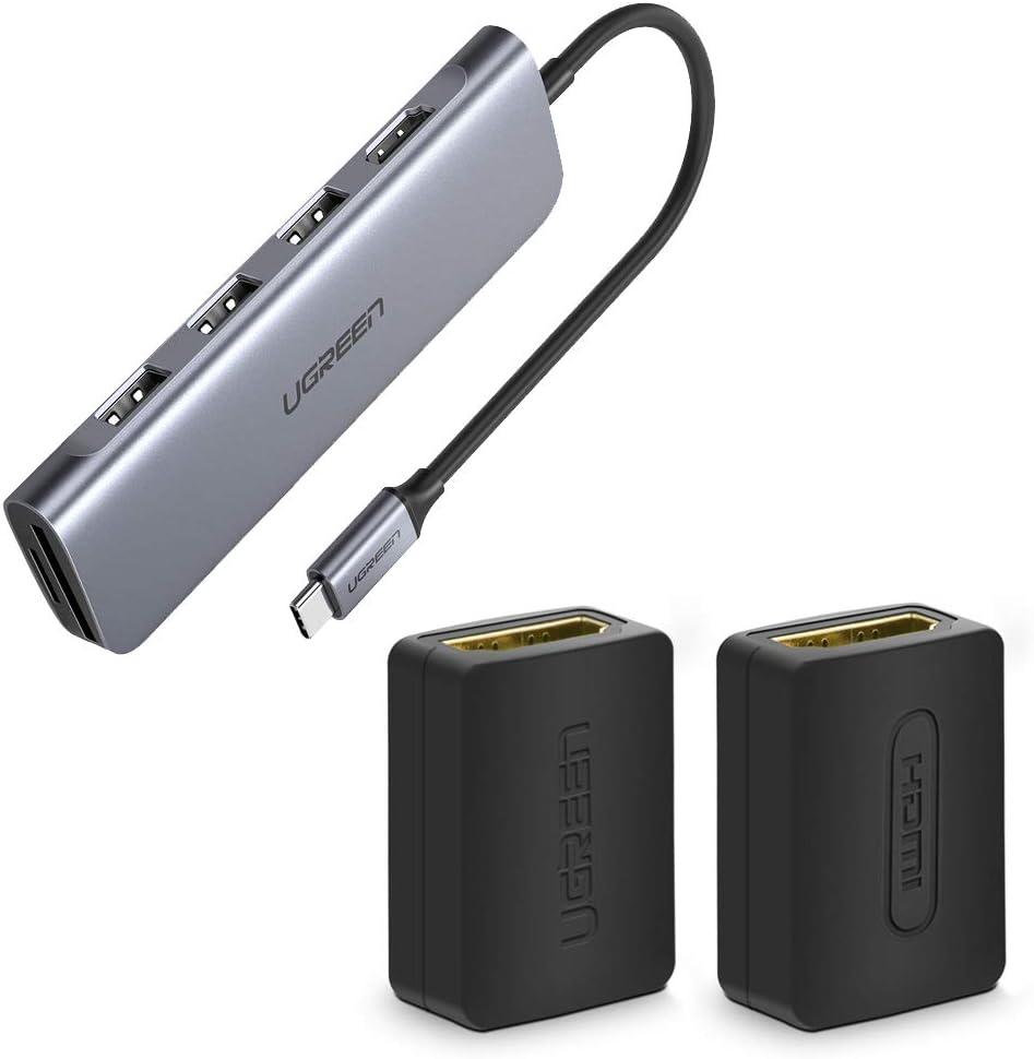 Bundle UGREEN 2 Pack HDMI Coupler Fema Female Finally resale start Adapter Seattle Mall 4K to