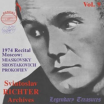 Richter Archives, Vol. 9: Moscow 1974 Recital (Live)