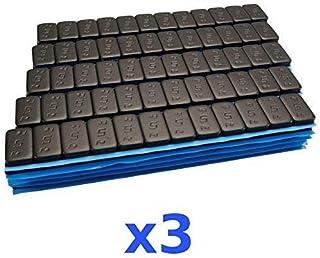 3 x 6 kg 18 kg svart premium urvalsvikt 12 x 5 g häftvikt 300 stift