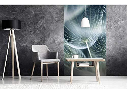 Vlies Fotobehang PAARDEBLOEM MACRO | Niet-Geweven Foto Mural | Wall Mural - Behang - Reusachtige Wandposter | Premium Kwaliteit - Gemaakt in de EU | 150 cm x 250 cm