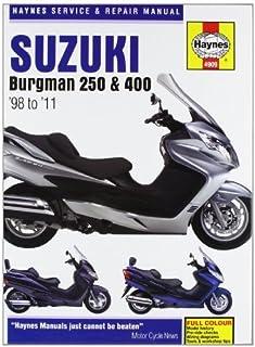 10 Mejor Manual Taller Suzuki Burgman 400 de 2020 – Mejor valorados y revisados