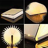 Sailnovo LED Buchlampe 4.4W Dimmbare Nachttischlampe Tischlampen