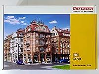 Vollmer 43770 Romantisches Cafe フォルマー ヨーロッパ 欧州 建物 家 模型 プラモデル HOゲージ