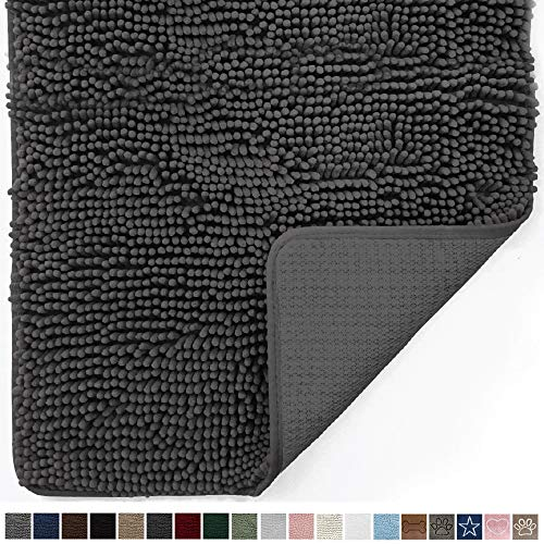 Gorilla Grip Original Indoor Durable Chenille Doormat,...
