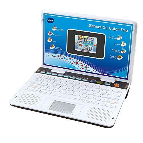 VTech - Genius Xl Color Pro Bilingue, Ordinateur Pour Enfants, Jouet Educatif - Version FR