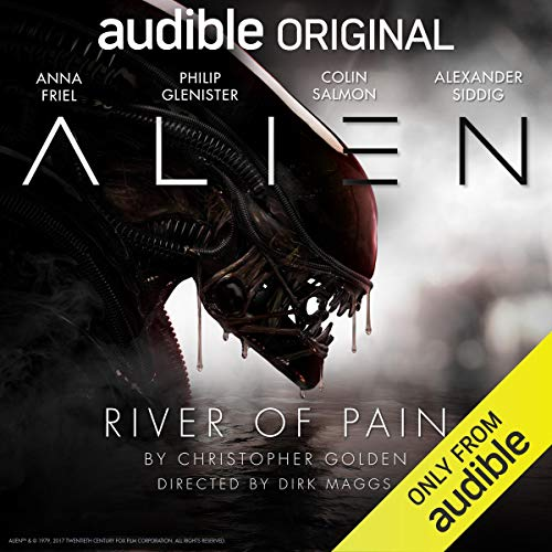 『Alien: River of Pain』のカバーアート